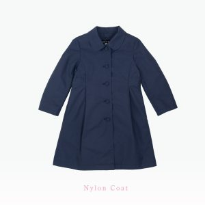 濃紺ライナーナイロンコート|女児