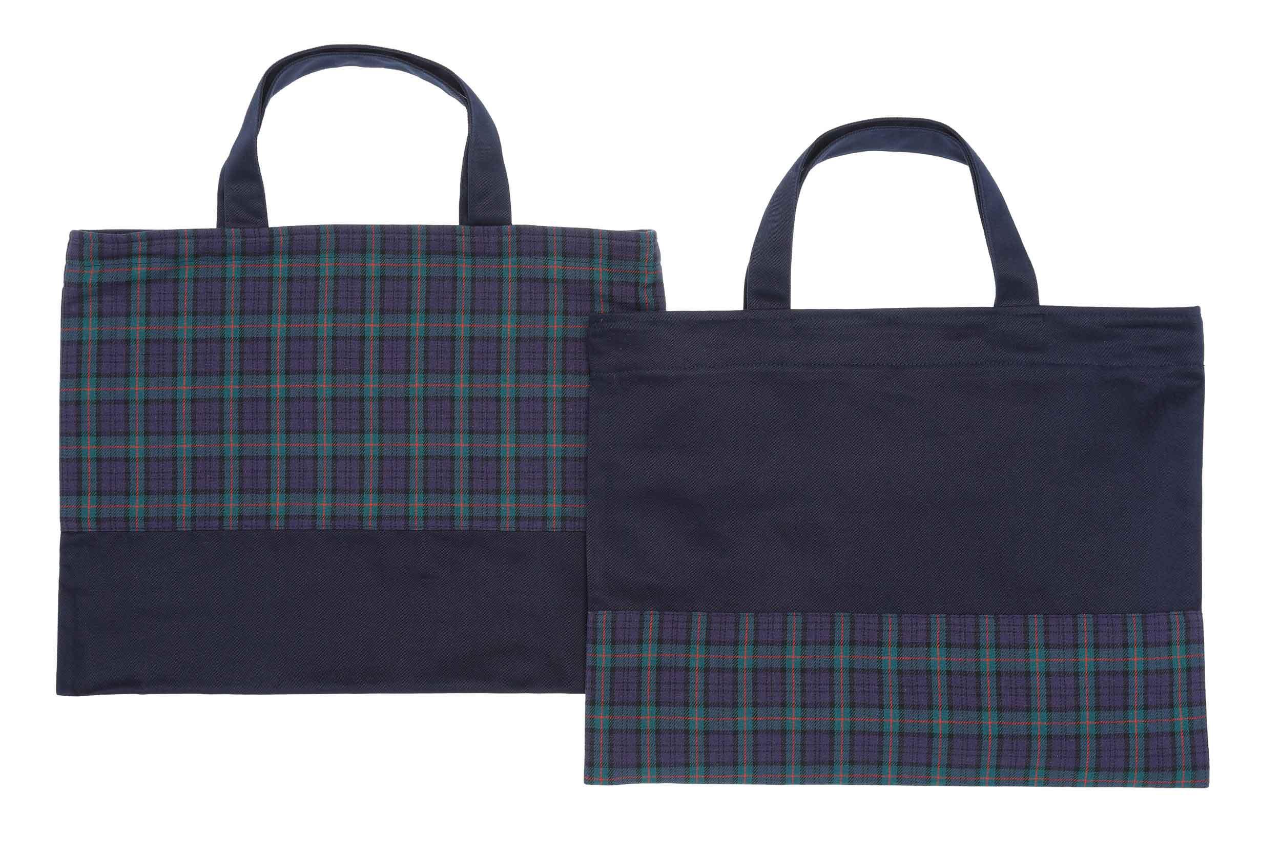 青山学院初等部の体操着袋と多目的袋