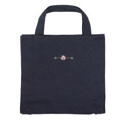 女児幼稚園受験用靴袋ハンドメイド刺繍・薔薇